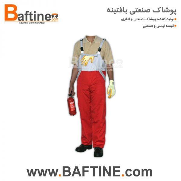لباس کار دوبنده DBD04