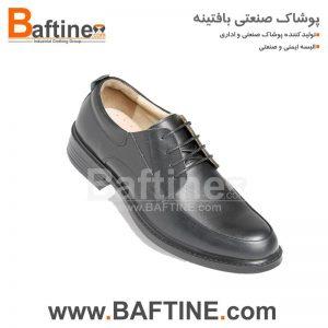کفش مردانه لباس فرم بافتینه