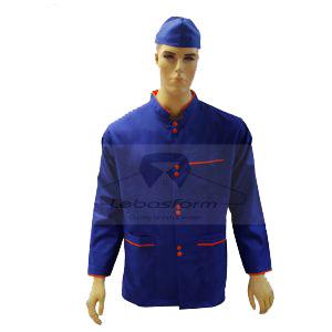 لباس کار با پارچه های با کیفیت