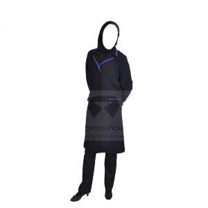 لباس های فرم زنان و مردان در بزرگترین تولیدی لباس کار